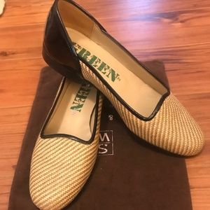 Stubbs & Wootton Straw Loafers 7